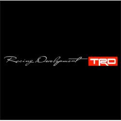 1572. Наклейка  на авто Racing Development  TRD