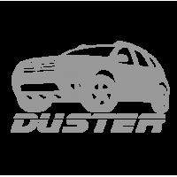 "1580. Наклейка на авто ""Renault Duster """