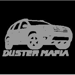 """1581. Наклейка на авто """"Renault Duster Mafia"""""""
