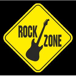 "1594. Наклейка ""Rock Zone"""