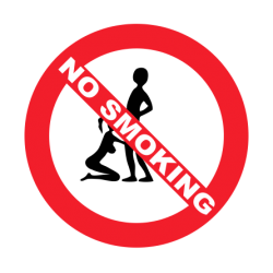 """1635. Наклейка """"Не курить"""""""