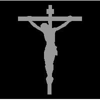 """1652. Наклейки на авто и для интерьера """"Иисус"""""""