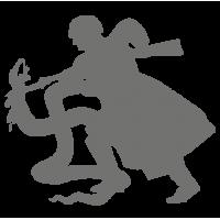 """1679. Наклейка на авто  """"Бей фашистов"""" (9 мая 70 лет победы)"""