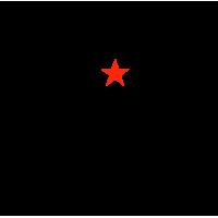 "1688. Наклейка ""HUNTER Охотник"""