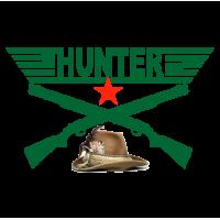 "1690. Наклейка ""HUNTER Охотник"""