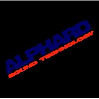 "1717. Наклейка  ""Alphard"""