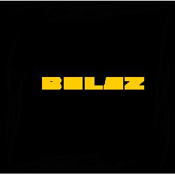 """1810. Наклейка на авто """"Belaz (БелАЗ) уголком"""""""