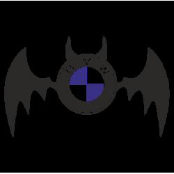 1861. Бетмен BMW