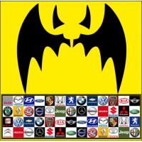 1863. Наклейка Бетмен универсальная