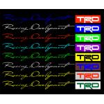 Наклейка  на  авто Racing Development  TRD